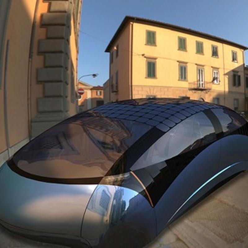 Antro - El prototipo de auto solar híbrido de diseño futurista