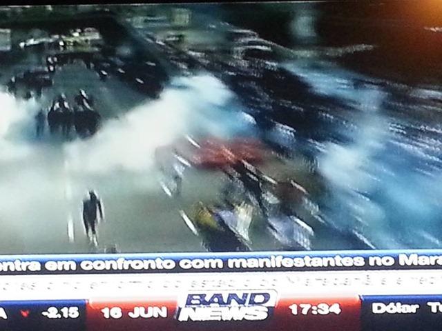 Manifestação Violencida da Policia 4