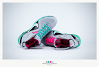 nike lebron 9 ps elite grey candy pink 9 41 sneakerbox LeBron 9 P.S. Elite Miami Vice Official Images & Release Date