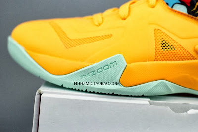 nike zoom soldier 7 gr yellow pop art 4 02 Nike Soldier VII Coconut Groove aka Pop Art available at Eastbay