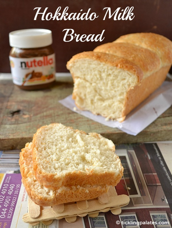 Eggless White Sandwich Bread