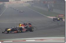 Vettel ha vinto il gran premio d'India 2012