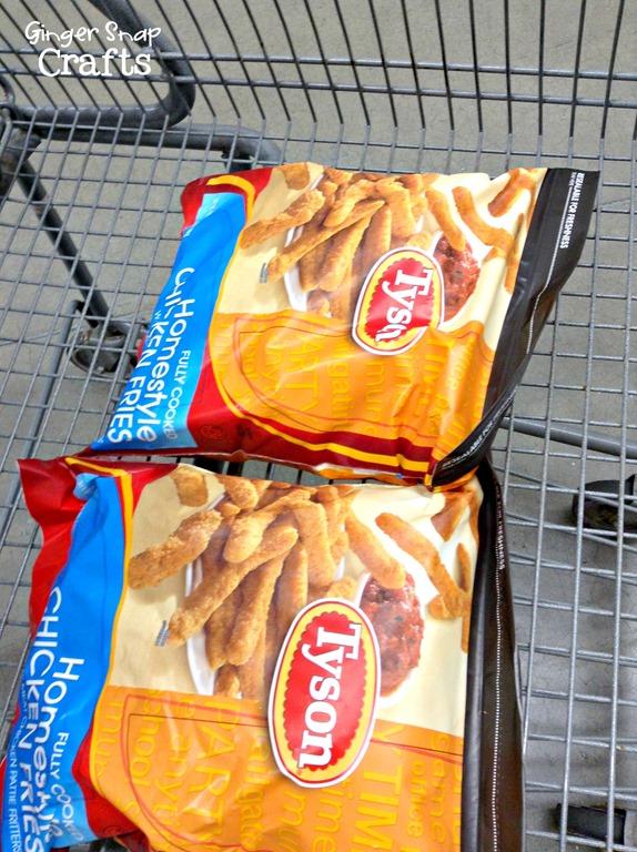 chicken snack chicken dinner