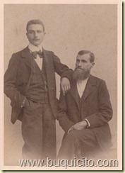 Saverio Russo(mi bisabuelo) y su hijo Antonio Russo Cino