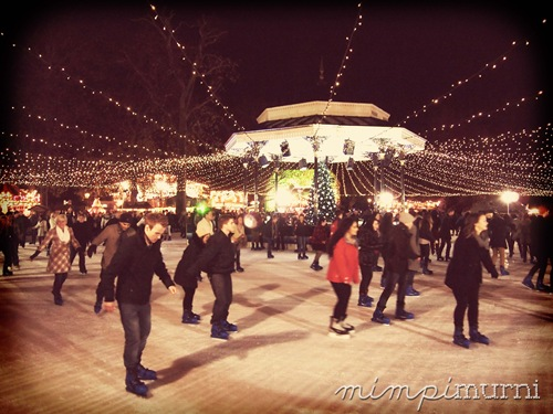 ice skating at Winder Wonderland