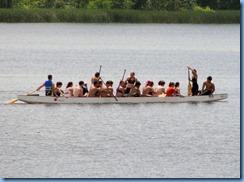 4890 Laurel Creek Conservation Area  - boat on Laurel Reservoir