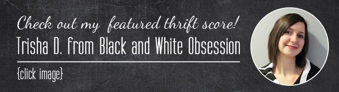 Thrift Score Thursday Trisha color