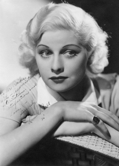 Lucille Ball, 1936