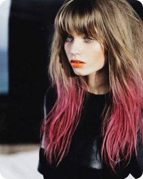dip-dyed-hair