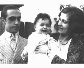 Oscar con la famiglia