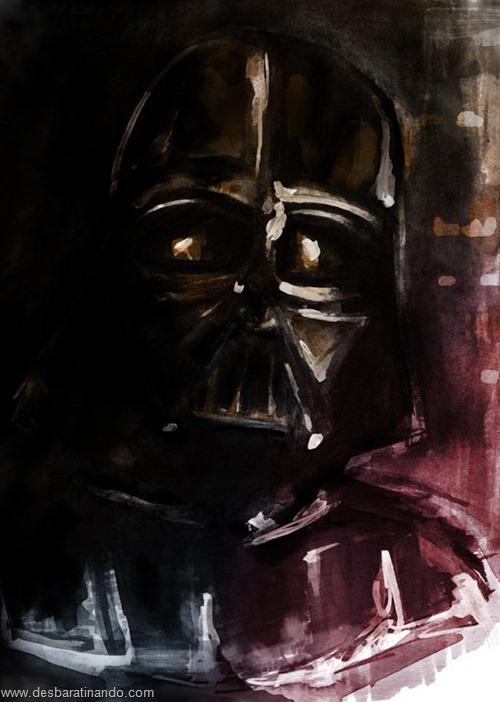 pinturas star wars aquarela desbaratinando  (9)