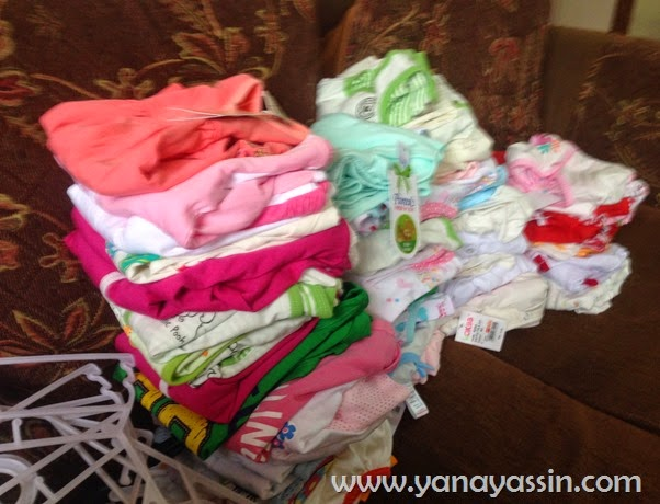 Nestle Bliss Shopping Free baju baby