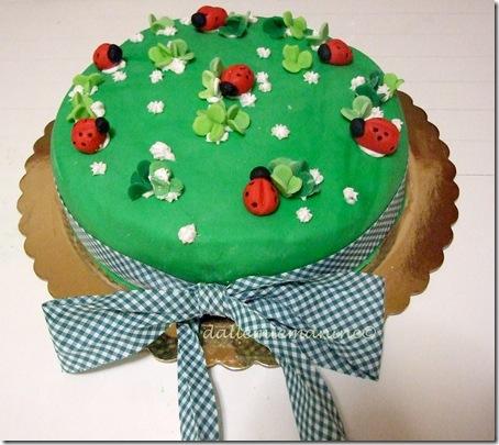 torta coccinelle