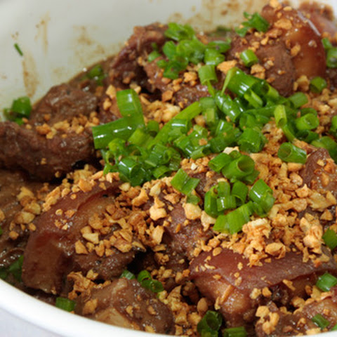 Pork Adobo With Liver Sauce