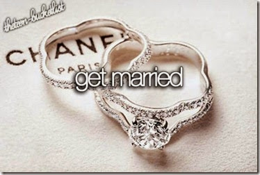 Bucket List - Get Married