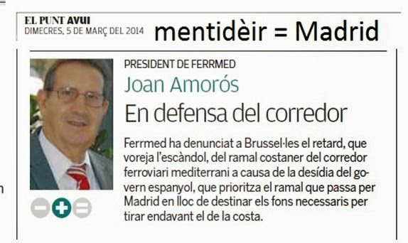corredor Mentidèir = Madrid