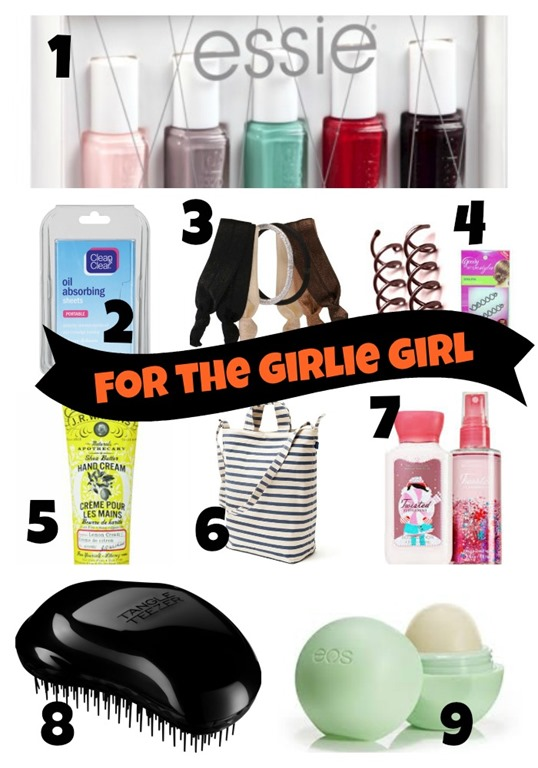 Stocking Stuffers for Girlie Girls
