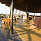 Ruaha River Lodge, Lounge und Terrasse © Foto: Ulrike Pârvu | Outback Africa Erlebnisreisen