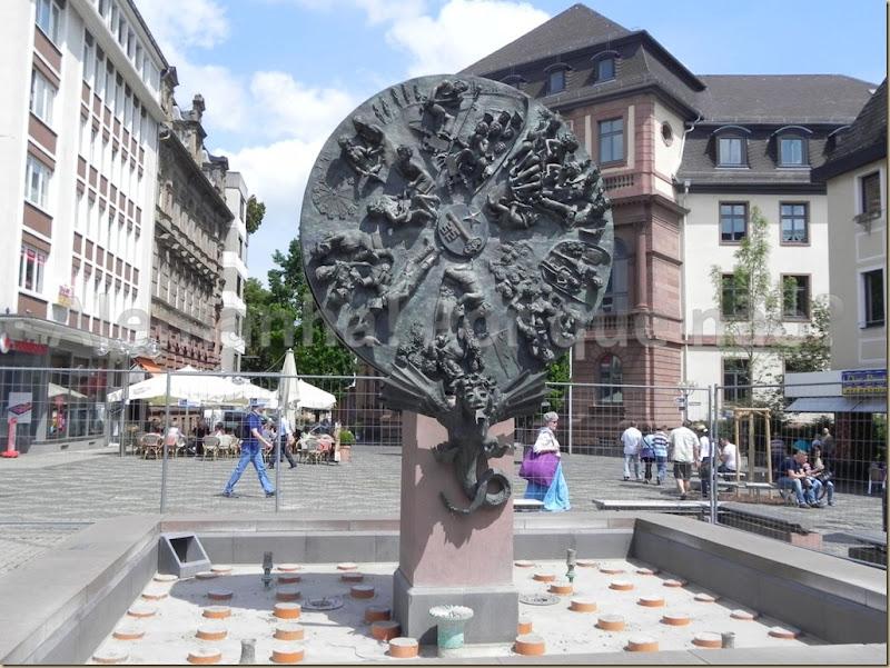 """A """"Roda da Fortuna"""", na Obermarkt"""