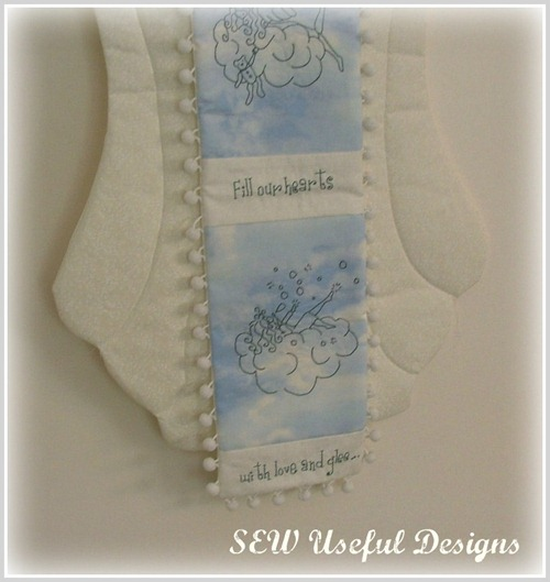 Angel fabric wings 1 pic