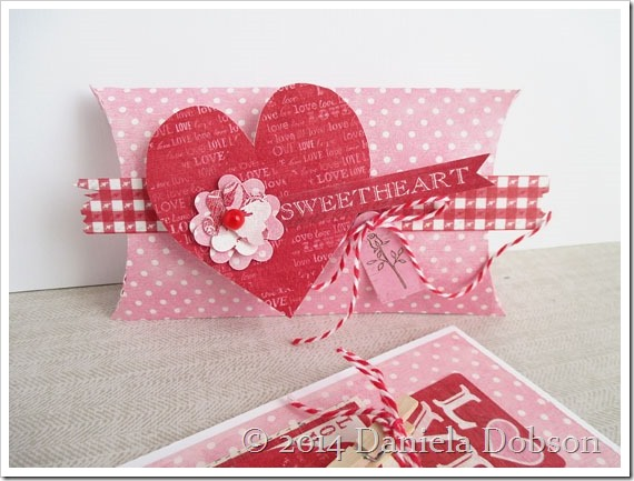 My valentine box by Daniela Dobson