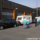 Jaarlijkse caravancontrole in Oude Pekela - Foto's Johan de Groot