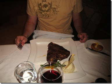 10.  Mike's 24 oz steak