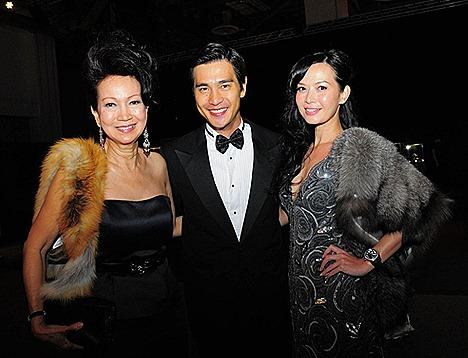Pierre Png Andrea De Cruz Haute Couture Gala Marina Bay Sands WFW 2011