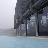 the Blue Lagoon cafe in Grindavík, Suournes, Iceland
