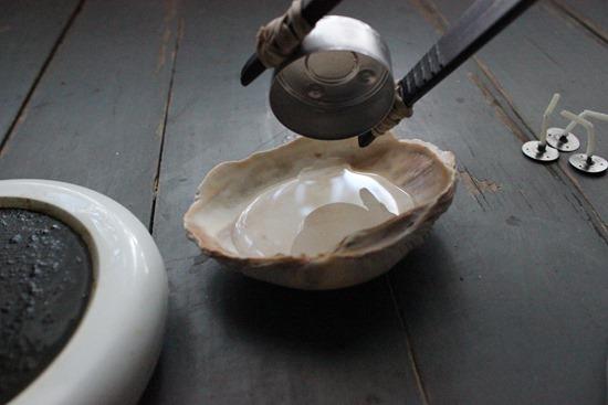 DIY Seashell Candles Shell Craft Tutorial