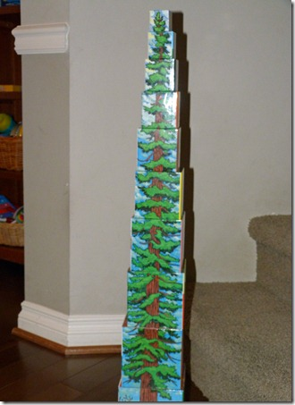 Tallest Tree Stacking Tower 1