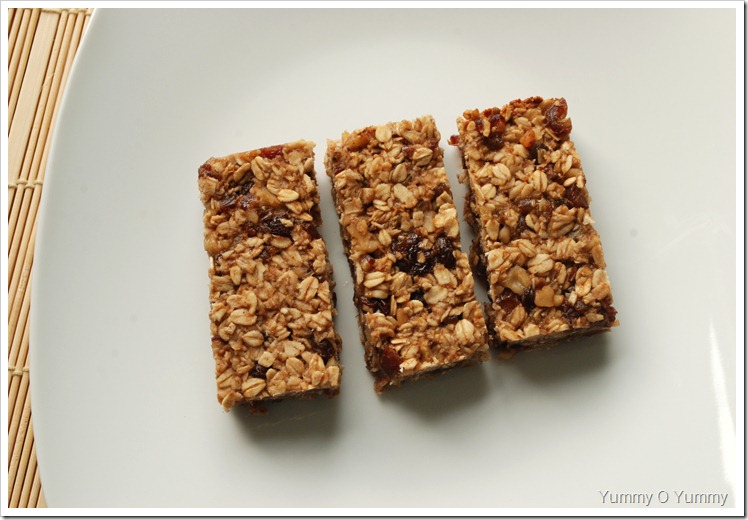 Banana - Oat Bars