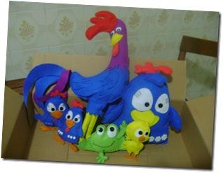 turma galinha pintadinha