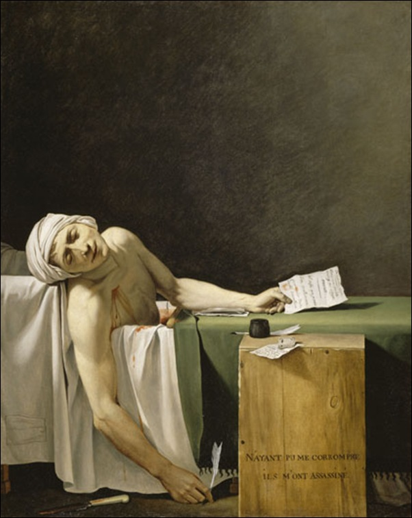Jacques Louis David, Marat assassiné
