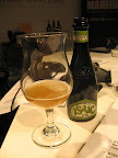 Baladin's Issac is a smooth Italian witbier with aromas of banana, pear, and coriander.  It makes an elegant apertif, or could pair well with fried chicken.