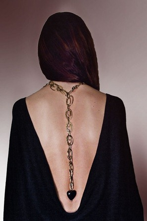 Livia Firth necklace back