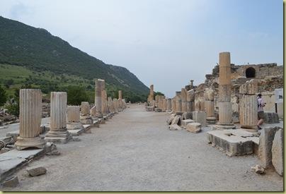 Ephesus side of agora