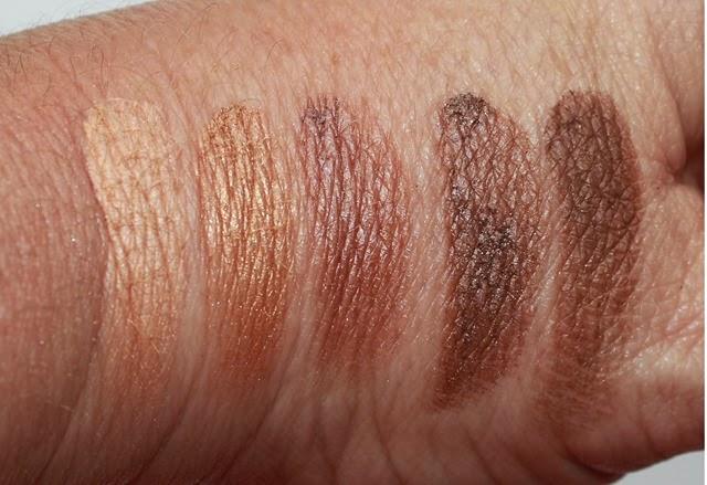 Julep Sweep Eyeshadow Palette Neitrals swatches