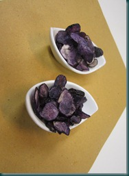 patate viola chips
