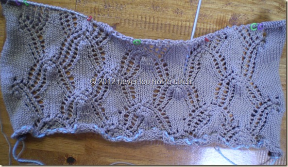 2012 Westall cardigan 68 rows in