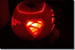 Supergirl Pumpkin
