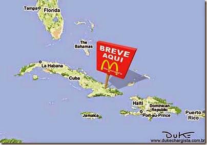 Em breve McDonalds em Cuba