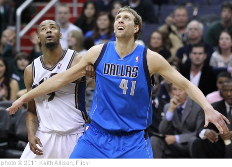 'Rashard Lewis and Dirk Nowitzki' photo (c) 2011, Keith Allison - license: http://creativecommons.org/licenses/by-sa/2.0/