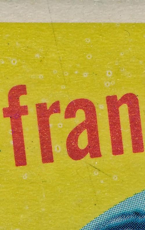 1959 Topps 161 Frank Baumann variation upper left