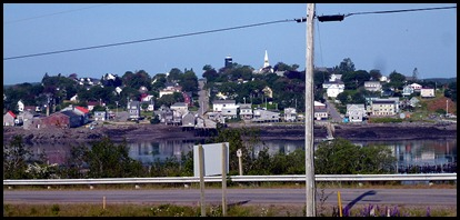 01l -  visiting Lubec -View of Lubec fromCampobello Island