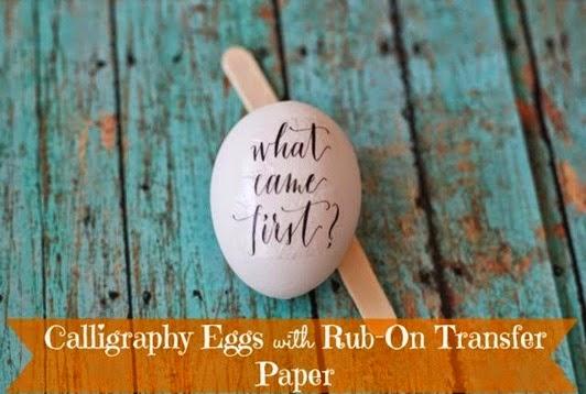 calligraphy eggs