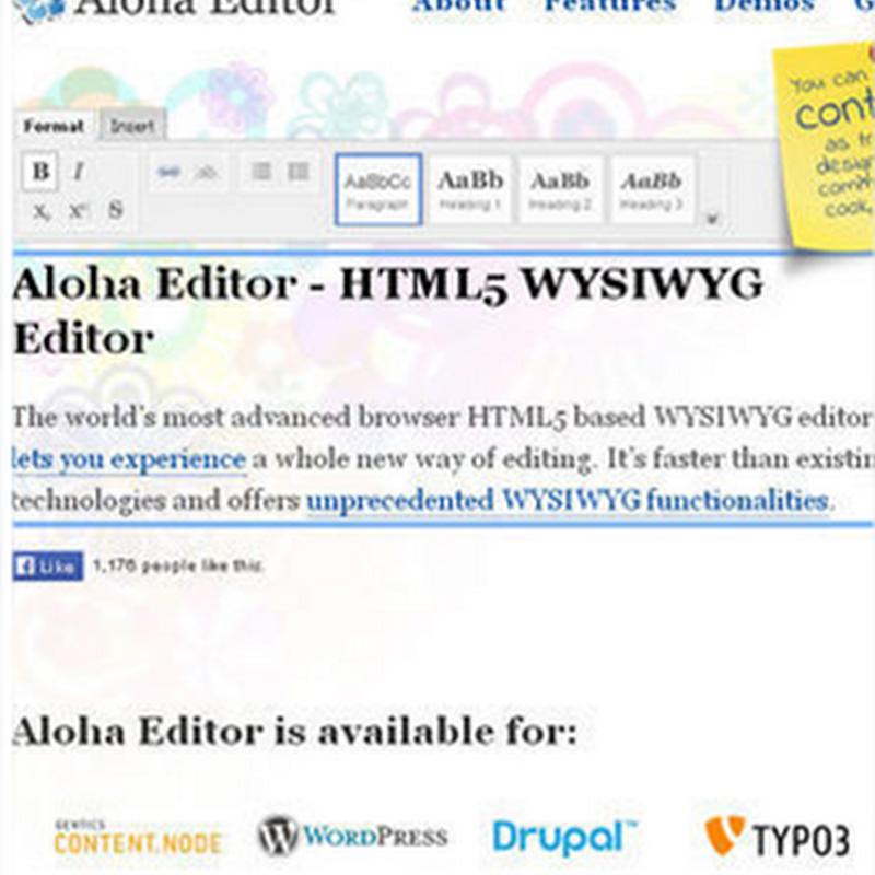 4 de los mejores editores WYSIWYG para instalar en tu sitio web