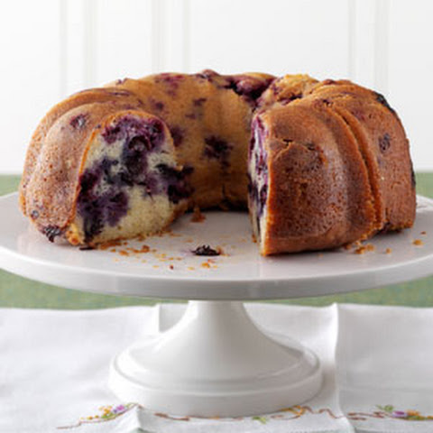 Lemon-Blueberry Pound Cake