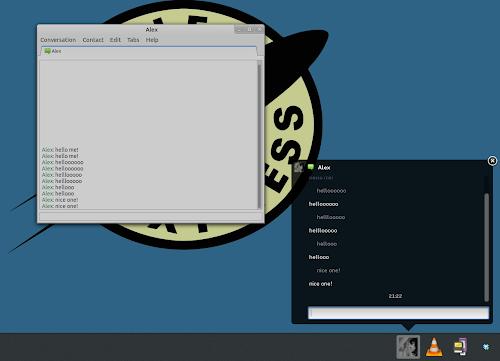 Gnome Shell 3.8 - ecco il nuovo messageTray