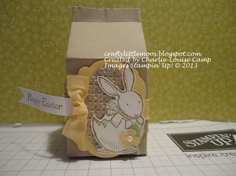 vintage bunny everybunny mini milk carton crumb cake Check it out at craftylittlemoos.blogspot.com Created by Charlie-Louise Camp Images Stampin' Up! © 2013 24-03-2013 08-59-44